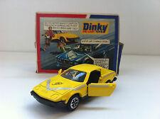"""Dinky Toys - 112 - Triumph Purdey's TR7 """"The new avengers"""" en boîte d'origine"""