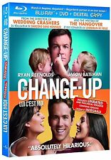 The Change-Up (Blu-ray, 2011, Unrated, Canadian) DVD Disc not included