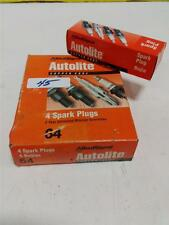 ALLIED SIGNAL AUTOLITE 4 SPARK PLUGS 64 NIB
