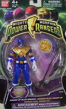 Mighty Morphin Power Rangers Blue 4 inch Power Morpher Coin 2010 New