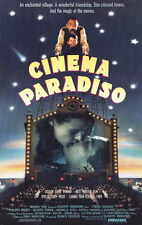 CINEMA PARADISO Movie Promo POSTER B Philippe Noiret Jacques Perrin