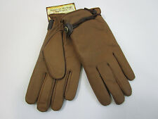 AMERICAN HERITAGE mens GENUINE BUFFALO leather gloves  NEW NWT