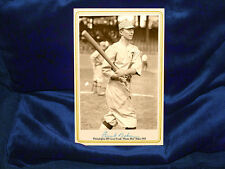 "Philadelphia Baseball Great Frank ""Home-Run"" Baker Cabinet Card Photo 1914 CDV"