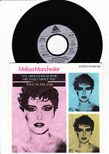 "7""  Melissa Manchester - You should hear how she talks about you ---"
