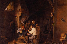 492075 Flemish Country Inn David Teniers The Younger A4 Photo Print