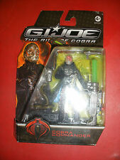 hasbro G.I.joe MOVIE The Rise Of Cobra COBRA COMMANDER gijoe GI joe