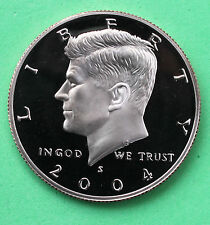 2004 S Proof Kennedy Half Dollar Coin 50 Cent JFK from US Mint Proof Set