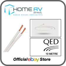 QED 79 Strand Speaker Cable OFC High Grade Copper Award Winning - 10m - White