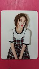 CLC EUNBIN Official Photocard NU.CLEAR 4th Mini Album EUN BIN No Oh Oh 은빈