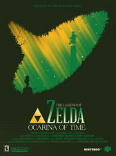 "113 The Legend of Zelda - Ocarina of Time Hot Game Art 14""x19"" Poster"