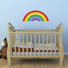 Rainbow Wall Sticker - Child's Bedroom or Nursery Wall Sticker