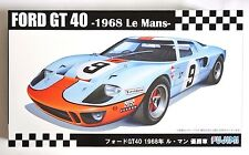 FUJIMI RS-97 1/24 Ford GT40 1968 Le Mans 24H winner Gulf #9 scale model kit