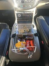 Uber Lyft Tip Candy Box and USB Charging Station with Universal Cable.