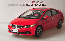 1:18 HONDA NEW CIVIC 2014 Die Cast Model RED
