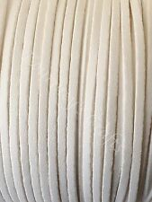 Faux Suede Flat Leather Smooth Cord Lace String 23 yards bundle 3mm