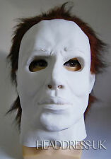 Michael Myers COMPLETO Overhead lattice gomma Maschera Costume Halloween Costume