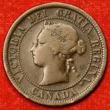 1876-H CANADA LARGE CENT PENNY GREAT COLLECTOR COIN GIFT CALC61