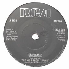 """KIDS FROM FAME - Starmaker - Excellent Condition 7"""" Single RCA 280"""