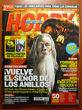 Revista Hobby Consolas nº 155 + guía Splinter Cell: Pandora Tomorrow PS2 XBOX GC