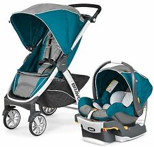 Chicco Bravo Trio 3-in-1 Baby Travel System Stroller w/ KeyFit 30 Polaris NEW