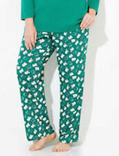 CATHERINE'S LOUNGE SLEEP PANT 5X Polar Bears wScarf Glittery, Sparkle