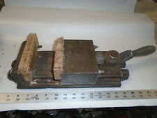 "MACHINIST TOOLS LATHE MILL Machinist 5"" Skinner Chuck Co Milling Vise Lever Type"