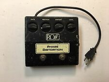 Ross R-70 Phase Distortion Phaser Shifter Rare Vintage Guitar Effect Pedal