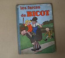 BD Bicot Les Farces de Bicot édition originale Hachette 1929 rare