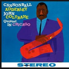 Quintet In Chicago - Cannonball & John Coltrane Adderley (2010, Vinyl NEUF)