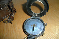 Antique Short and Mason WW1 Verners pattern mark 8 Compass no 4593 C1912
