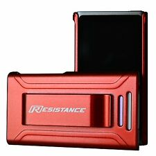 iPod nano 7th Shock Absorbing Resistance Case w/Screen Protector - Metallic Red