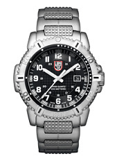 NWT Luminox Men's MODERN MARINER 6250 SERIES A.6252 Stainless Steel 45mm Watch