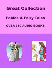 Great Collection of Fables and Fairy Tales over 350 Audio Books on DVD Rom