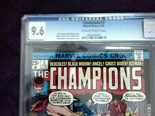 The Champions #3 (Feb 1976) with off white-white pages Graded NM+ 9.6