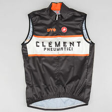Castelli Cycling Vest LARGE Pro Team Clement Spy Road Mountain