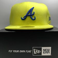 NEW Era 59 FIFTY Atlanta Braves 7 1/4 Aderente Berretto Da Baseball 4 GRATIS