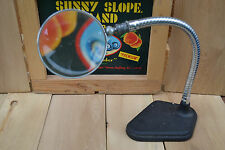 "Vintage USA ""Glass Magnifying Glass"" Jewelry Watch Hobbiest Adjustable Arm WOW"