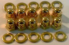 HONDA 24ct GOLD PLATED ROCKER COVER NUTS K20 CIVIC INTEGRA DC5 EP3 B16 TYPE-R