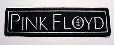 pink floyd monogram logo EMBROIDERED  PATCH IRON OR SEW