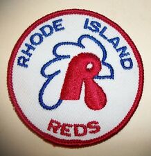 Rhode Island Reds Ice Hockey Team Patch Patches Vintage New AHL Defunct Rooster