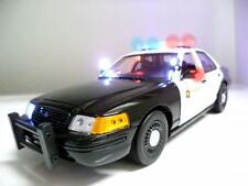 1/18 Police car with Working LED Lights and Siren