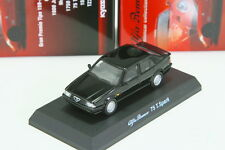 Kyosho 1/64 Alfa Romeo 75 T.Spark Black Minicar Collection 3 2013 Limited