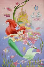 "DISNEY ""LITTLE MERMAID - ARIEL IN FRONT OF UNDERWATER CITY"" POSTER"