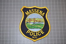 Massena New York Police Department Patch (T3)