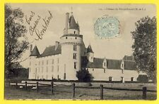 cpa 49 - CHÂTEAU du PLESSIS BOURRÉ (Maine et Loire)