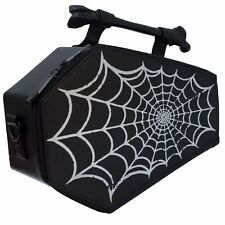 KREEPSVILLE 666 SPIDERWEB FOIL BARA BAG purse borsa KREEPSVILLE 666 Borsa Coffin