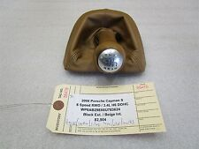 06 Cayman S Porsche 987 6 SPD Beige Leather SHIFT KNOB BOOT 99742407501 82,904