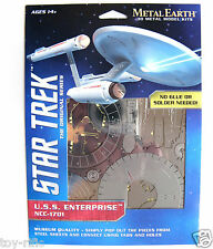 METAL EARTH STAR TREK THE ORIGINAL FIRST USS ENTERPRISE NCC-1701 - BRAND NEW
