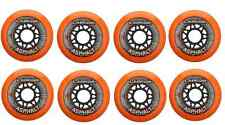 Labeda Gripper Asphalt Outdoor Inline Roller Hockey Wheels 80mm 85A 8-Pack