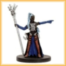 Drow Wizard 50 - Dragoneye - Dungeons & Dragons Miniature - D&D Female Cleric
